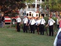 American Legion waiting to do gun salute