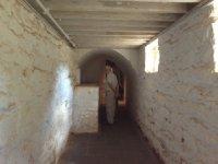 Underground passageway at Monticello