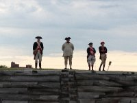Standing guard at Ft. Stanwix