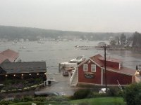 Very overcast in Boothbay today.