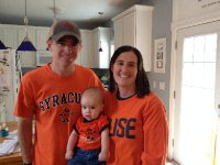 SU fans ready for the game.