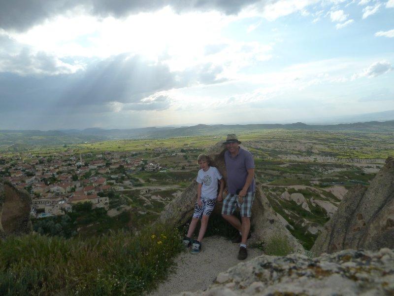 Uchisar Castle lookout