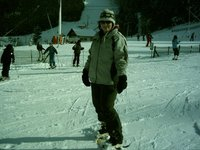 Snowboarding in Les Voges