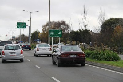 nz (251) road to southbound in chc