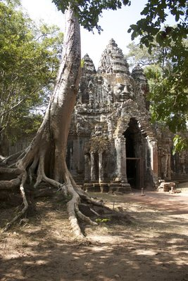 Back to Angkor Thom - this is outside the north gate