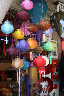 Lanterns at a Lacquerware Shop