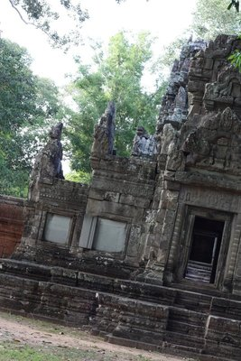 "One of Cambodia's smaller temples - ""Chau Say Tevoda"""