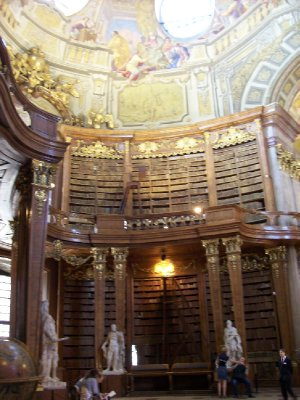 Prunksaal - Hall of Honour of the National Library