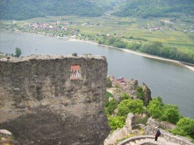 Richard the Lionheart's prison, Durnstein above the Danube