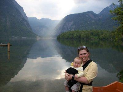 Lake edge in Obertraun