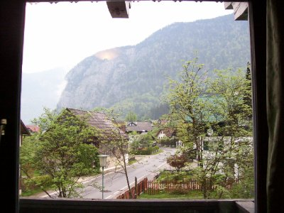 View from our window, Obertrauner Hof