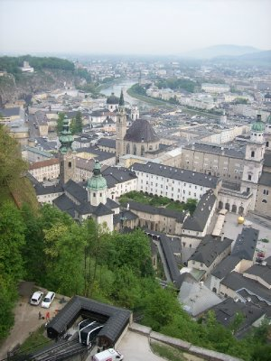 View from Hohensalzburg Fortress
