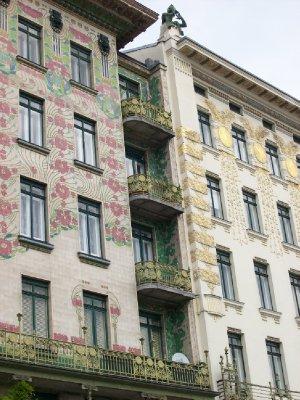 Beautiful Secession design near Naschmarkt