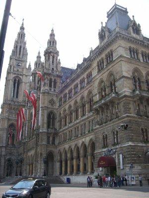 Rathaus - town hall Vienna