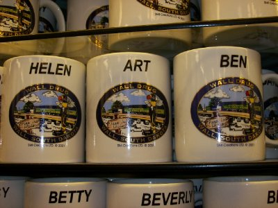 Souvenirs at Wall Drug