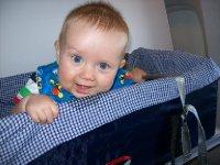 Arthur enjoying the flight