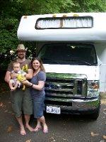Harrison joins the family - departing Reston, VA