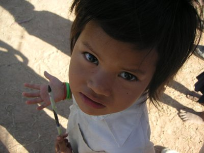 Little Girl in Kampong Speu