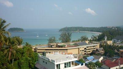 View from Sugar Palm Hotel - Kata