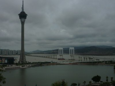 One of the bridges to Taipa
