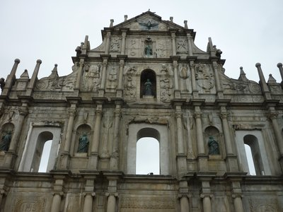 St Pauls Cathedral Ruins
