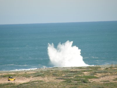 near blow holes Point Quobba