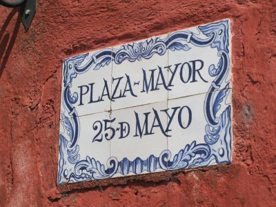 Plaza Mayor 25th Mayo