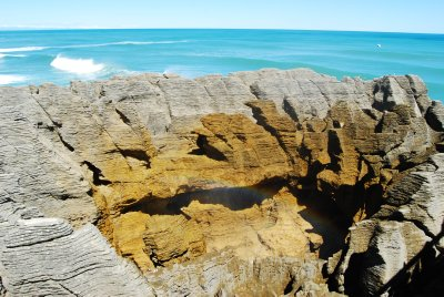 Punakaiki Pancake Rocks and blowholes (20)
