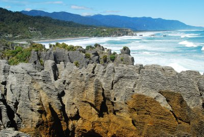Punakaiki Pancake Rocks and blowholes (23)