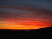Sunset in Nasca Desert