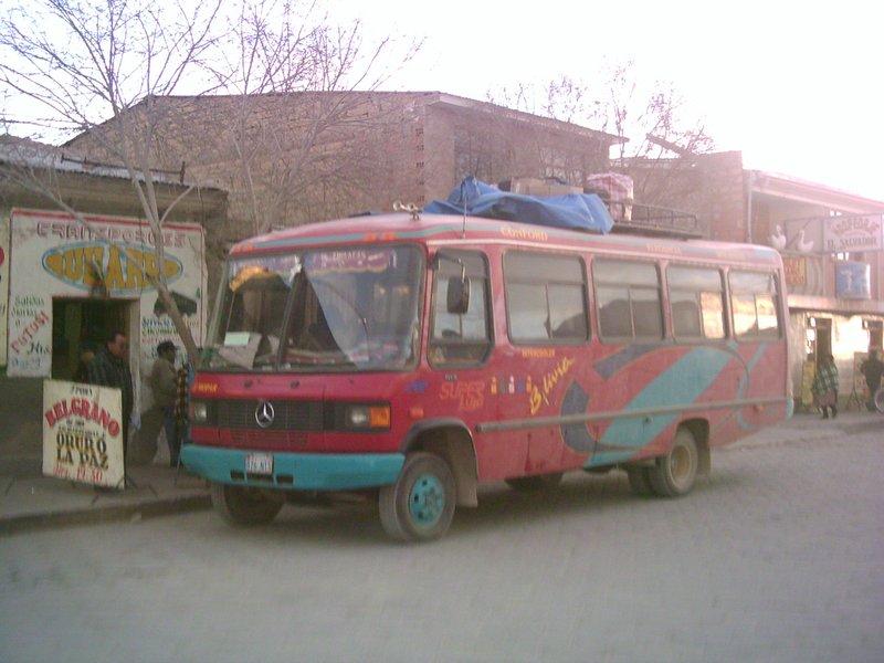 Bolivian Bus
