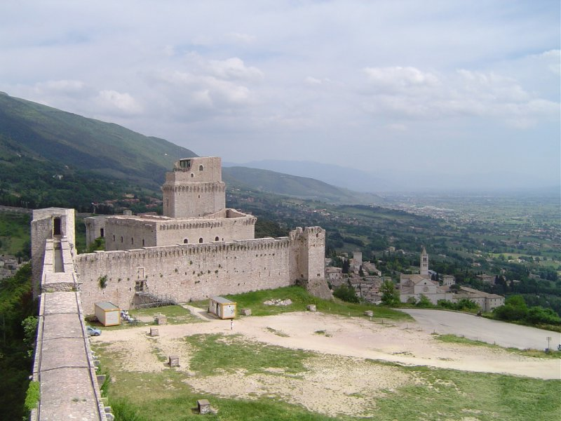 Fort in Assisi
