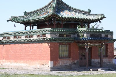 The walls of Erdene Zuu Khiid