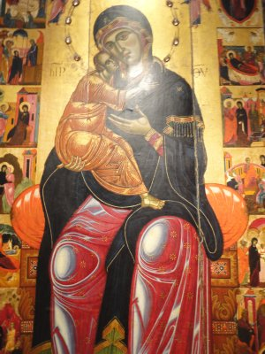 Russian Icons at the Pushkin