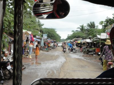 Tuk tuk for the final part of our journey to Battambang