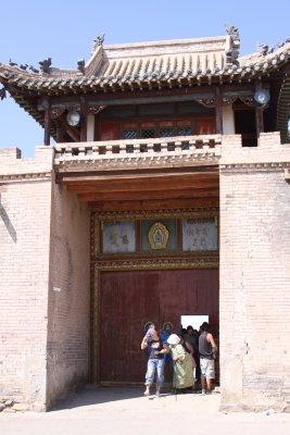 Main gate into Erdene Zuu Khiid