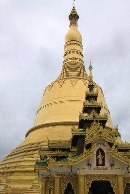 Shwemawdaw Paya - The tallest in Pagoda in the country