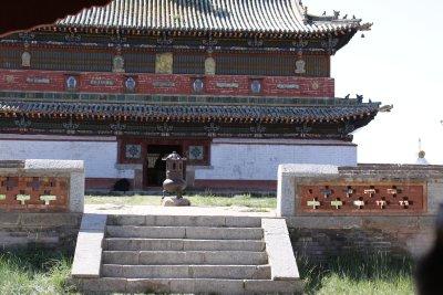 The main temple at Erdene Zuu Khiid