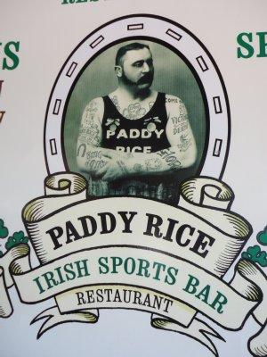 Irish bar on the banks of the Mekong