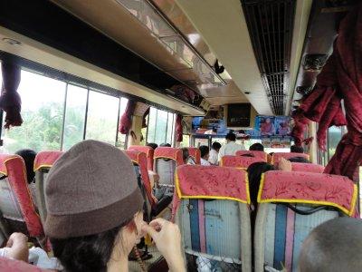 On the bus to Mt. Kyaiktiyo
