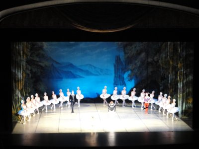 Swan Lake in Moscow