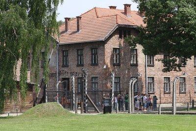 The greatest lie in Auschwitz