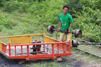Rebuilding the train