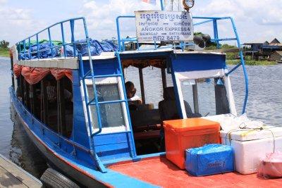 Our Express boat to Battambang