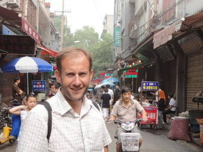 Exploring the alleys of Xi'an city