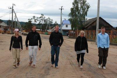 Olkhon Island Reservoir Dogs. En route to Banya
