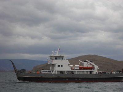 The Olkhon Island ferry