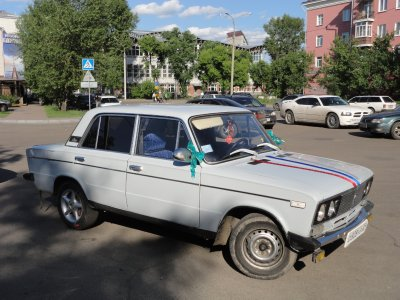 Even Lada's can go to weddings