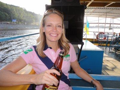 Trey on the booze cruise