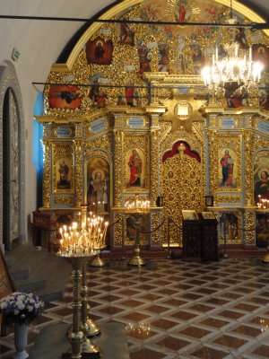 Side chapel of the Dormition Cathedral